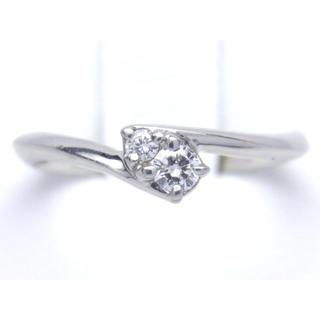 ヨンドシー(4℃)の4°C プラチナ ダイヤモンド リング(リング(指輪))