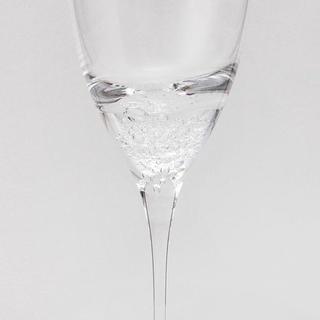 スガハラ(Sghr)のゆかり5642様    深海から沸き起こる泡のワイングラス(グラス/カップ)