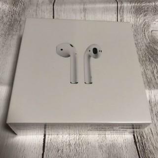アイフォーン(iPhone)のiphone  正規品 Apple アップル AirPods第2世代(ヘッドフォン/イヤフォン)