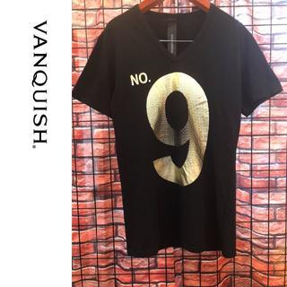 ヴァンキッシュ(VANQUISH)のVANQUISH Vネック Tシャツ(Tシャツ/カットソー(半袖/袖なし))
