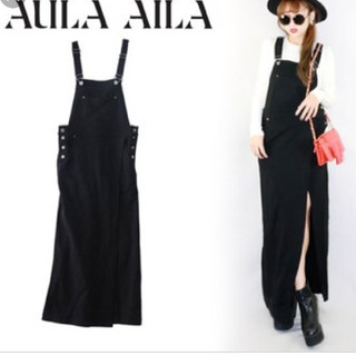 アウラアイラ(AULA AILA)のアウラアイラ サロペットスカート(ロングスカート)