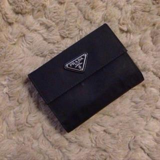 プラダ(PRADA)のPRADAの折りたたみお財布♡(財布)
