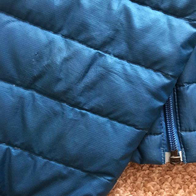 patagonia(パタゴニア)のパタゴニア ダウンセーター ダウンジャケット キッズ 5T キッズ/ベビー/マタニティのキッズ服 男の子用(90cm~)(ジャケット/上着)の商品写真