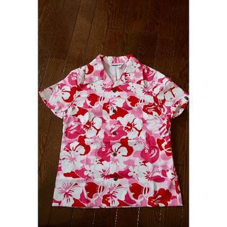 アベイシングエイプ(A BATHING APE)のBAPE ベイプ レディース アロハシャツ(シャツ/ブラウス(半袖/袖なし))