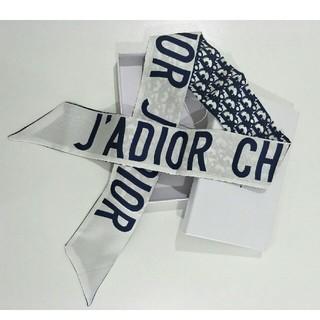 ディオール(Dior)のDIOR デイオール リボンスカーフ 大人気 (バンダナ/スカーフ)