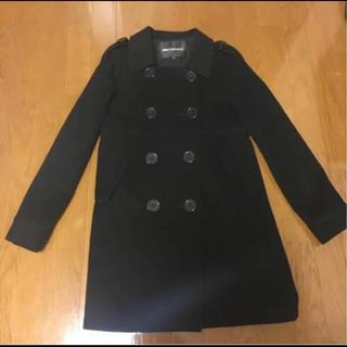 アメリカンレトロ(AMERICAN RETRO)のアメリカンレトロ【americanretro】デザインPコート(ブラック)(ピーコート)