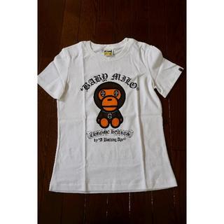 アベイシングエイプ(A BATHING APE)のBAPE ベイプ レディース Tシャツ(クロムハーツ、マイロ)(Tシャツ(半袖/袖なし))