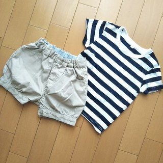 ムジルシリョウヒン(MUJI (無印良品))の即日発送♥️無印良品 こどもふく 80(Tシャツ)