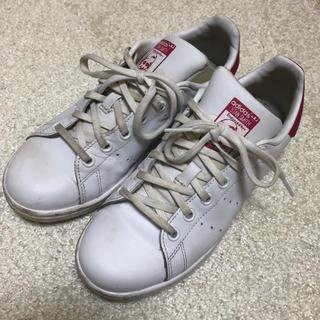 アディダス(adidas)の早い者勝ち!お値下げ【8回使用】アディダス スタンスミス ピンク 23.5cm(スニーカー)