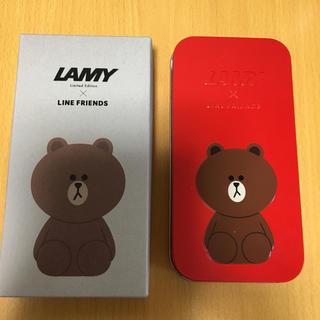 ラミー(LAMY)の万年筆 LAMY × LINE FRIENDS コラボ(ペン/マーカー)