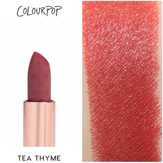 Sephora - Tea Thyme Colourpop カラーポップ リップ