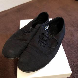 エヴァムエヴァ(evam eva)の週末セール☆天然革リネンシューズ(ローファー/革靴)