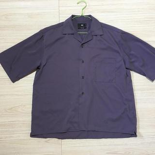 ハレ(HARE)のHARE 開襟 オープンカラー M 紫 パープル(シャツ)