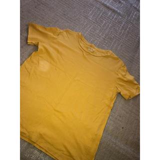 ジーユー(GU)の【シンプル🔥】イエローTシャツ!(Tシャツ(半袖/袖なし))