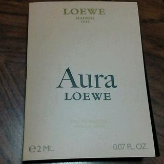 ロエベ(LOEWE)のロエベ アウラ 香水 試供品 (香水(女性用))