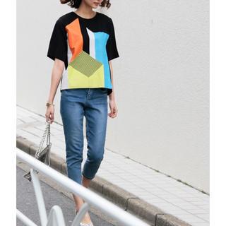 アメリヴィンテージ(Ameri VINTAGE)のAmeri BLOCK ART TEE(Tシャツ(半袖/袖なし))