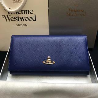 ヴィヴィアンウエストウッド(Vivienne Westwood)の【新品未使用!】ヴィヴィアンウエストウッド 財布 青(財布)