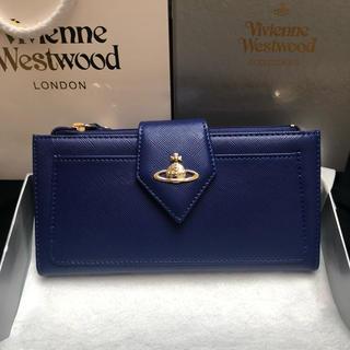ヴィヴィアンウエストウッド(Vivienne Westwood)の【気まぐれ値下げ中!!】ヴィヴィアンウエストウッド 財布 青(財布)