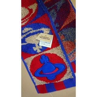 ヴィヴィアンウエストウッド(Vivienne Westwood)の ヴィヴィアン・ウエストウッド タグ付きマフラータオル(タオル/バス用品)