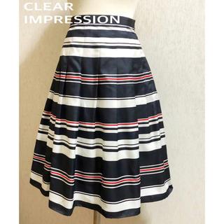 CLEAR IMPRESSION - CLEAR IMPRESSION★スカート★美品