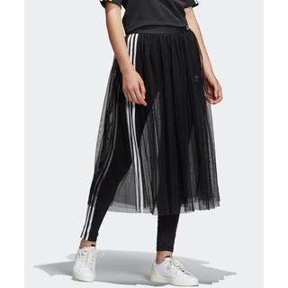 adidas - adidas☆サイドライン チュールスカート