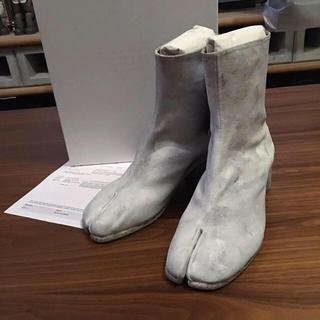 マルタンマルジェラ(Maison Martin Margiela)の新品正規品 Maison Margiela 19SS ペインテッド タビブーツ(ブーツ)
