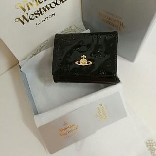 ヴィヴィアンウエストウッド(Vivienne Westwood)の新品正規品ヴィヴィアンウエストウッド財布折り財布13110黒(財布)