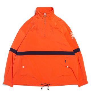 アップルバム(APPLEBUM)のapplebum line pullover jacket(ナイロンジャケット)