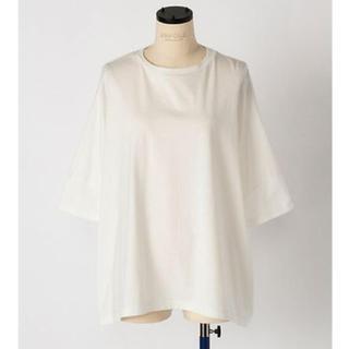 エンフォルド(ENFOLD)のENFOLD スビン天竺ワイドボックスT (Tシャツ(半袖/袖なし))