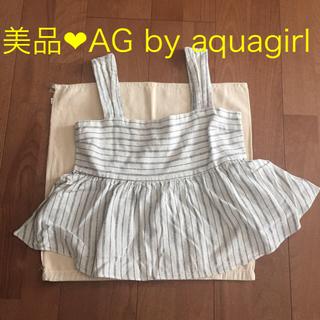エージーバイアクアガール(AG by aquagirl)の最終価格★AG by aquagirl 重ね着 タンクキャミ(キャミソール)