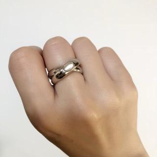 ムーンストーン 二連リング(リング(指輪))