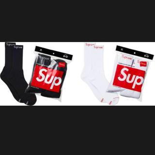 シュプリーム(Supreme)のsupreme × Hanes Cwer Socks(ソックス)
