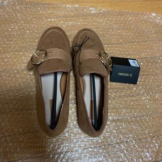 フォーエバートゥエンティーワン(FOREVER 21)の☆新品☆  値下げしました FOREVER21  ローファー(ローファー/革靴)