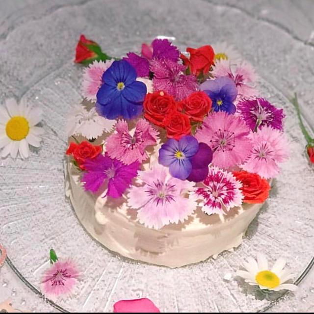 無農薬エディブルフラワー20輪 食品/飲料/酒の食品(野菜)の商品写真