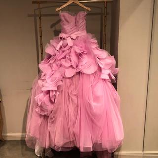 ヴェラウォン(Vera Wang)のVera Wang ピンクヘイリー US2(ウェディングドレス)
