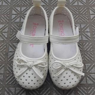 ニシマツヤ(西松屋)のメッシュ靴 16㎝(フォーマルシューズ)