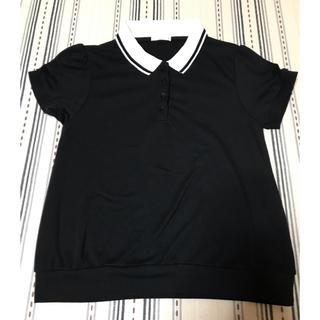 ジーユー(GU)の(最終お値下げ)GU ポロシャツ風(ポロシャツ)