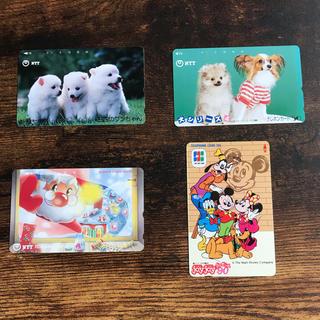 エヌティティドコモ(NTTdocomo)の新品未使用 105 50 テレホンカード 四枚セット テレカ(その他)