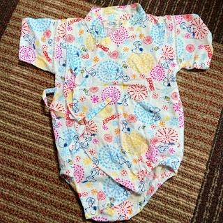 スヌーピー(SNOOPY)の甚平 ロンパース 浴衣(甚平/浴衣)