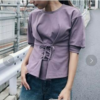 アメリヴィンテージ(Ameri VINTAGE)のTHS様専用amerivintageWAIST LACE-UP T-SHIRTS(Tシャツ(半袖/袖なし))
