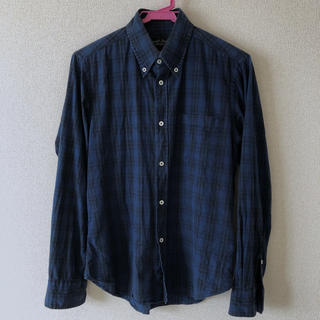 ジャーナルスタンダード(JOURNAL STANDARD)の長袖チェックシャツ Sサイズ(シャツ)