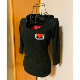 イング(INGNI)のINGNI バックプリント 5分袖Tシャツ(Tシャツ(長袖/七分))