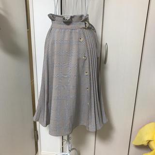 リズリサ(LIZ LISA)のリズリサ 新作新品  サイドプリーツスカート(ひざ丈スカート)