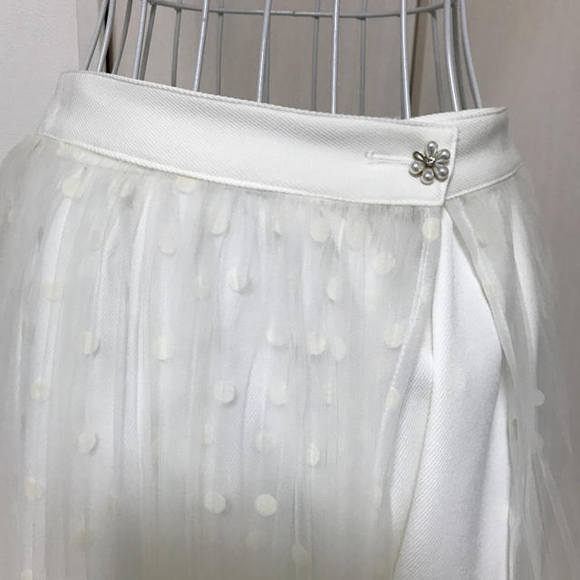 LIZ LISA(リズリサ)のリズリサ レースプリーツスカート レディースのスカート(ひざ丈スカート)の商品写真
