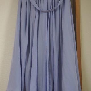 ナノユニバース(nano・universe)のイヘレムサテンギャザースカート(ロングスカート)