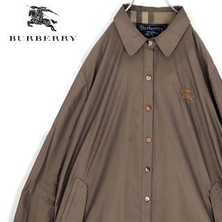 バーバリー(BURBERRY)の送料無料!バーバリーズ 最高級ライン プローサム 英国製 正規品 刺繍ロゴ(シャツ)
