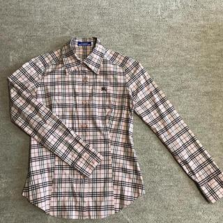 バーバリーブルーレーベル(BURBERRY BLUE LABEL)のバーバリーノバチェックシャツ(シャツ/ブラウス(長袖/七分))