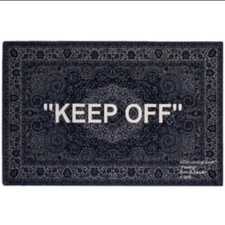 イケア(IKEA)のoff-white IKEA keep off rug ラグマット(ラグ)