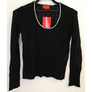 ヴィヴィアンウエストウッド(Vivienne Westwood)のヴィヴィアン・ウエストウッド黒セーター(ニット/セーター)