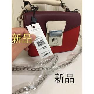 ビーシービージーマックスアズリア(BCBGMAXAZRIA)のBCBG 2way コンパクト 可愛いバッグ(ショルダーバッグ)